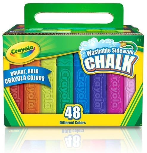 Crayola: 48 Thick Stick Chalk image