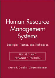 Human Resource Management Systems by Vincent R. Ceriello image