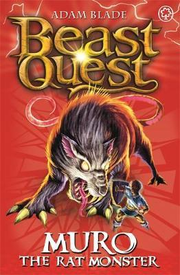 Beast Quest #32: Muro the Rat Monster (The World of Chaos) by Adam Blade image