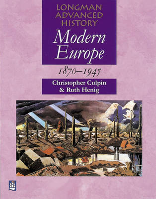 Modern Europe 1870-1945 by Chris Culpin image
