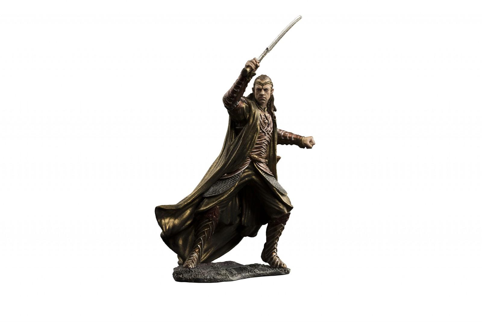 The Hobbit: Lord Elrond Of Rivendell: Dol Guldur - Environment Statue image