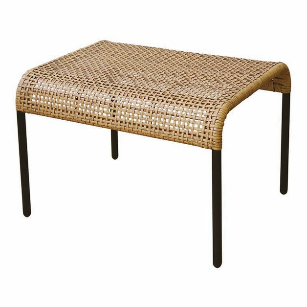 Madras Link: Kennedy Natural Footstool