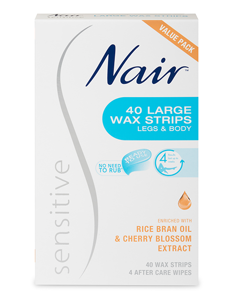 Nair: Sensitive Large Wax Strips (20's)