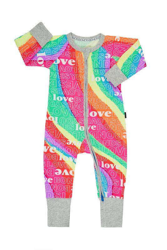 Bonds: Zip Wondersuit - Super Rainbow (Size 0)