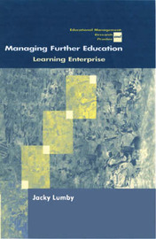 Managing Further Education by Jacky Lumby image