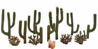 Woodland Scenics Cactus Plants (13 pack)