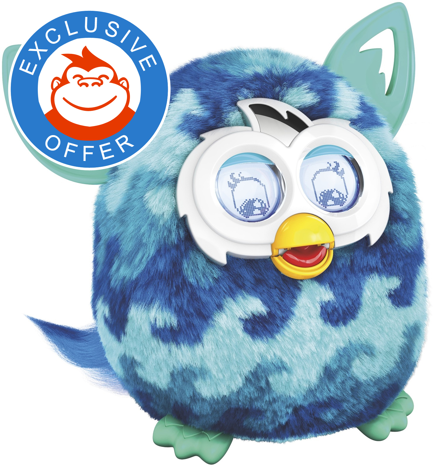 Furby Boom - Blue Waves | Toy | at Mighty Ape Australia