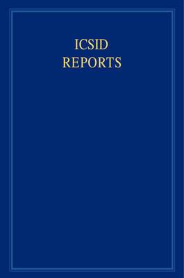 ICSID Reports 16 Volume Set ICSID Reports: Volume 10 image
