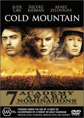 Cold Mountain on DVD