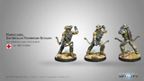 Infinity: Ariadna - Hardcases, 2nd Irregular Frontiersmen Battalion (Tactical Bow)