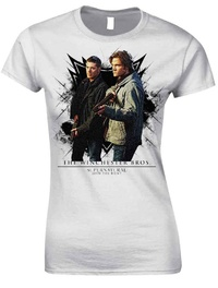 Supernatural: The Winchester Bros. Slimfit T-Shirt (X-Large)