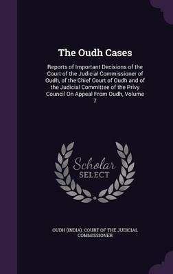 The Oudh Cases