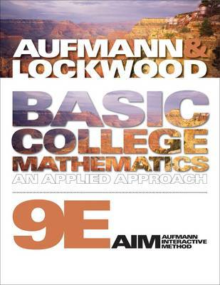 Basic College Mathematics by Richard N Aufmann image