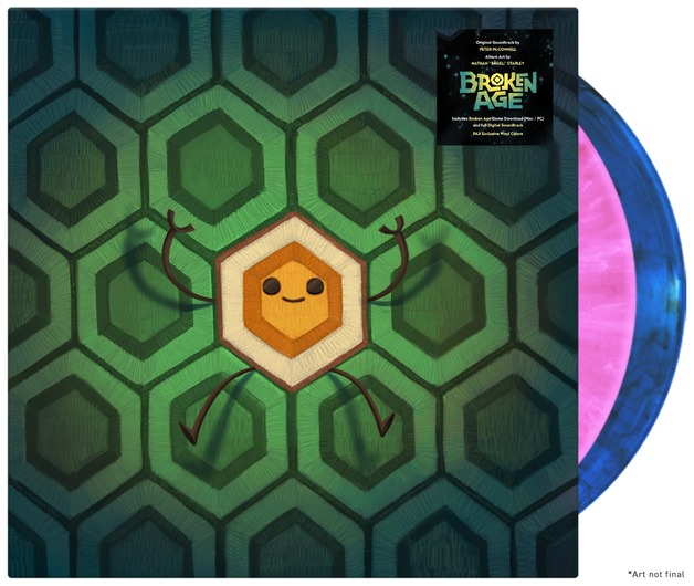 Broken Age Soundtrack (2LP) by Peter McConnell