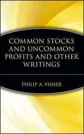 Common Stocks and Uncommon Profits by Philip A Fisher image