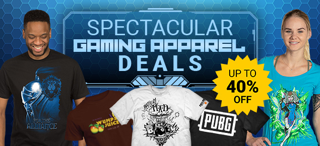 Spectacular Gaming Apparel Deals!