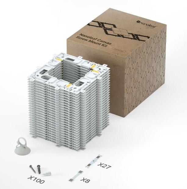 Nanoleaf: Canvas Mounting Kit - 25 pack (Soft Packaging)