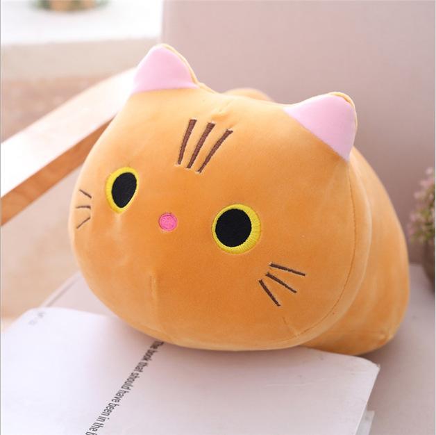 Chubby Cat Plush - Ginger (35cm)