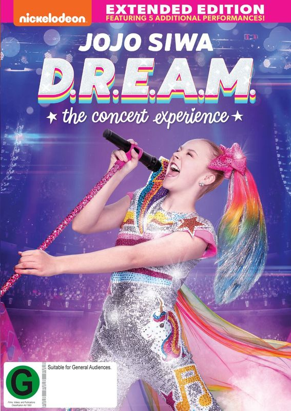 Jojo Siwa: D.R.E.A.M - The Concert Experience on DVD