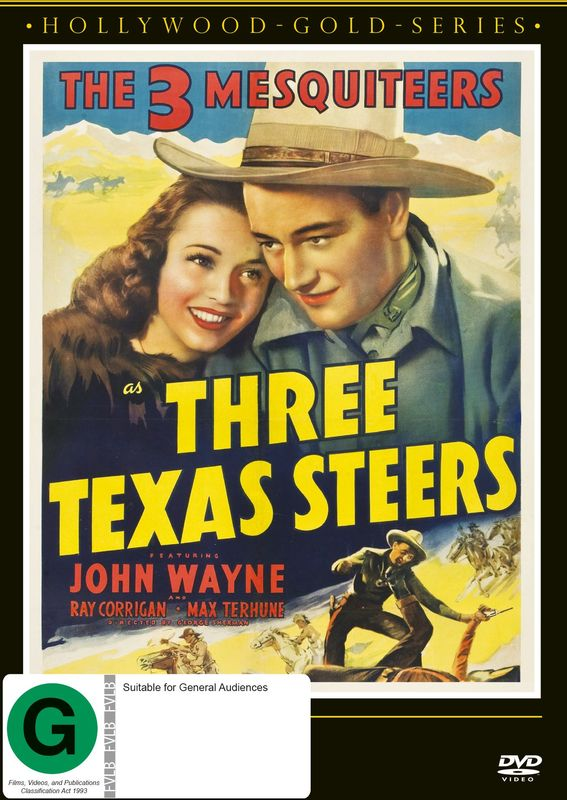 Three Texas Steers on DVD