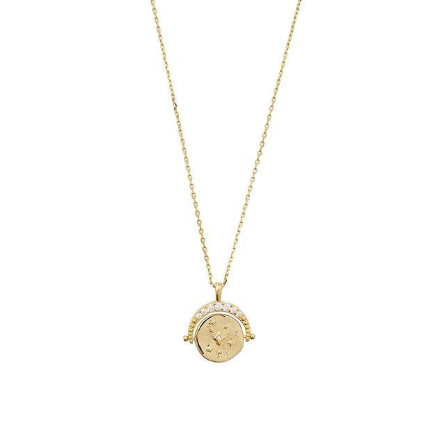 Wanderlust + Co: Universe Gold Necklace