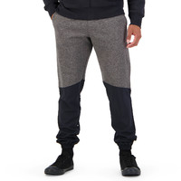 Canterbury: Mens Hybrid Cuffed Tapered Pant - Black Grey Marl (M)