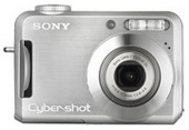 Sony DSCS700 Cyber-shot 7.2 MP  2.4-inch LCD Silver