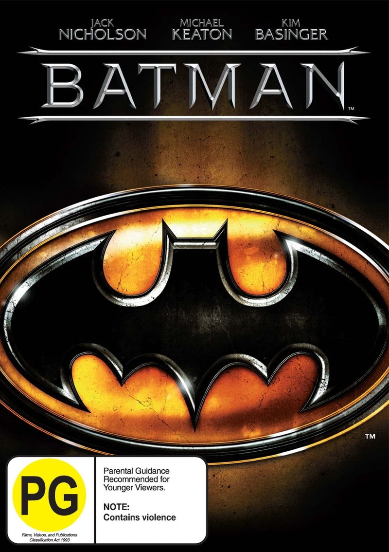 Batman on DVD image