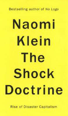 The Shock Doctrine by Naomi Klein image
