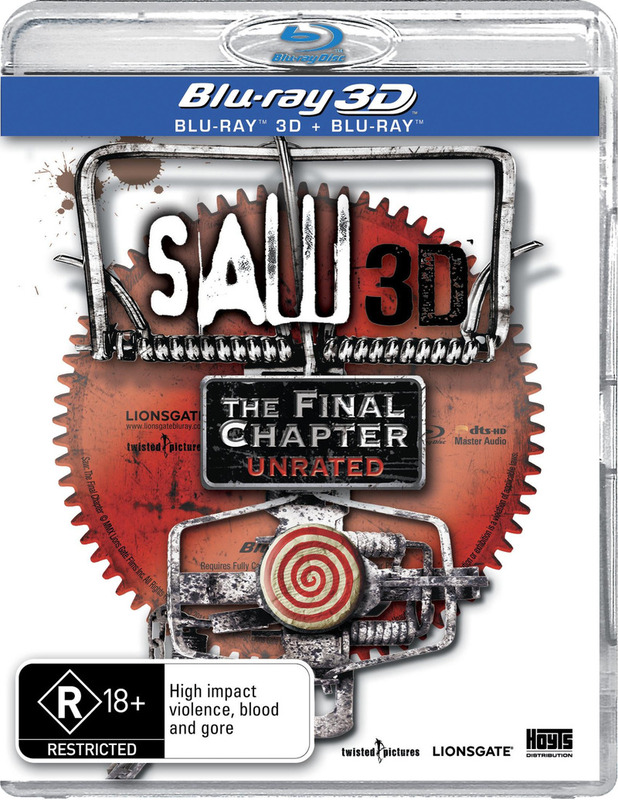 Saw: The Final Chapter - 3D on Blu-ray