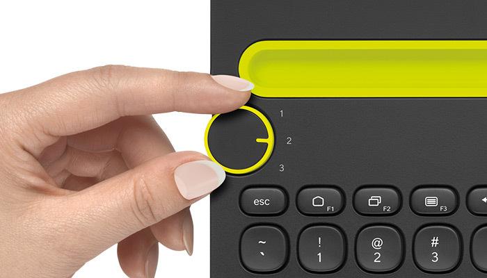 Logitech K480 Multi-Device Bluetooth Keyboard (Black) image