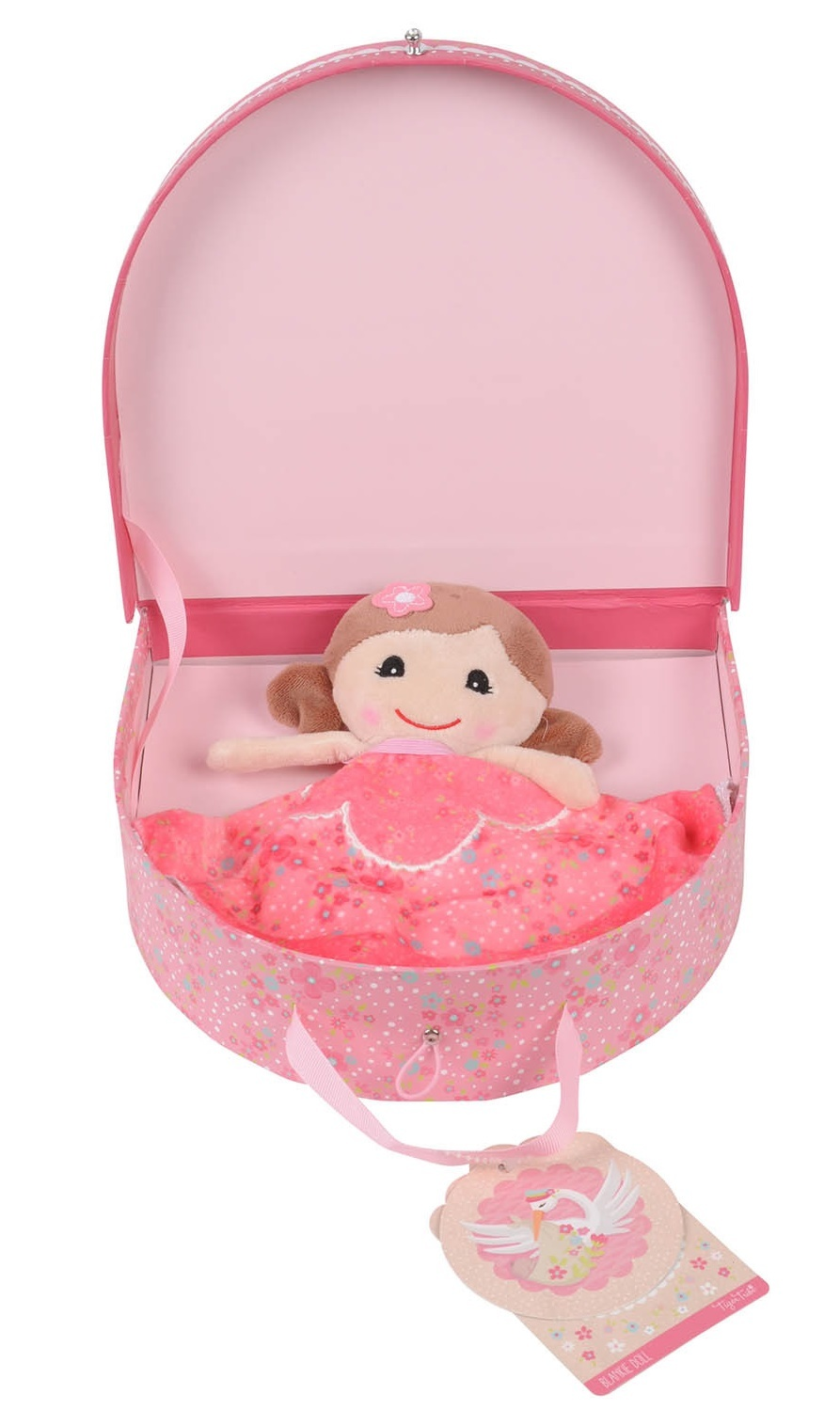 Tiger Tribe: Baby Blankie Doll - Emily image