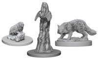 Pathfinder Deep Cuts: Unpainted Miniatures - Familiars