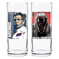 Star Wars Villians Set Of 2 Hi Ball Glasses