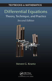 Differential Equations by Steven G Krantz