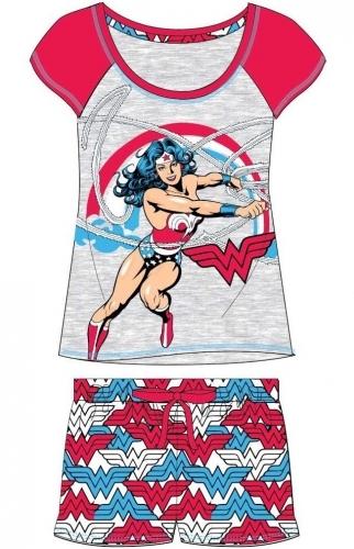 Ladies Wonder Woman Shortie Set