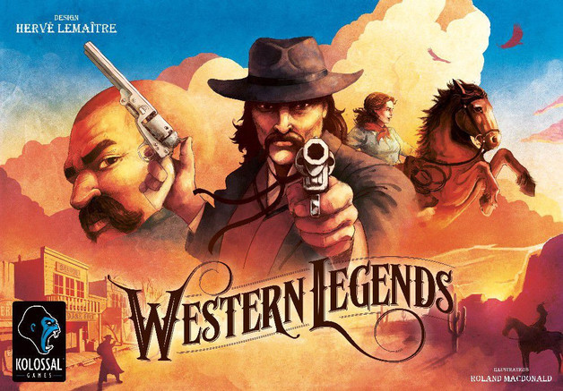 Western Legends - Board Game