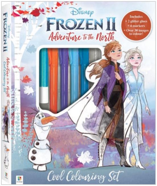 Kaleidoscope: Frozen 2 - Colouring Kit