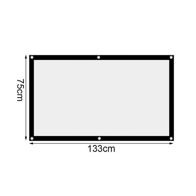 Portable Projector Screen - 60""