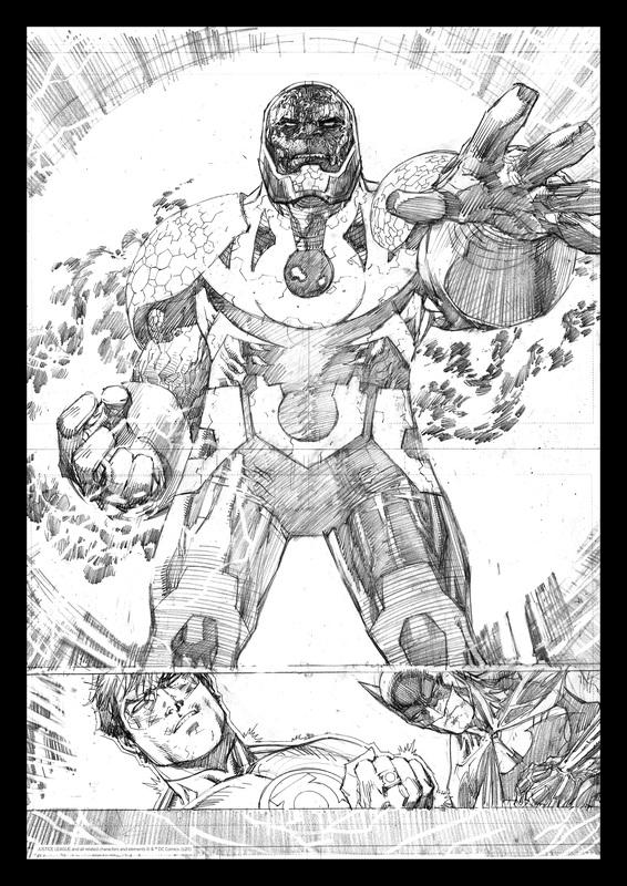 DC Comics: Darkseid - Comic Book Art Print