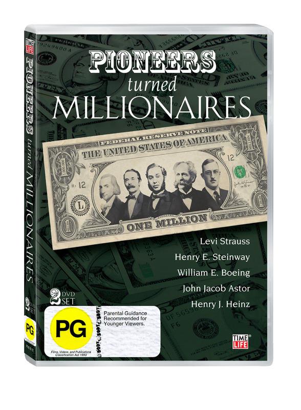 Pioneers Turned Millionaires (2 Disc Set) on DVD