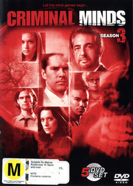 Criminal Minds - Season 3 (5 Disc Set) on DVD