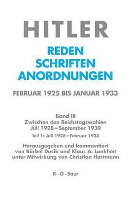 Juli 1928 - Februar 1929 by Adolf Hitler