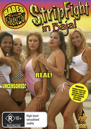 Babes Going Crazy - Stripfight In Baja on DVD image