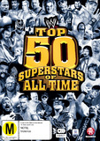WWE: Top 50 Superstars Of All Time DVD