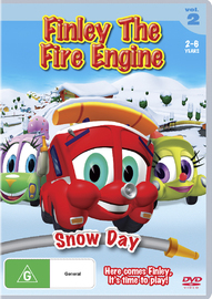 Finley The Fire Engine: Vol 2 - Snow Day on DVD