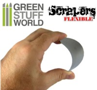 Green Stuff World - Flexible Steel Scraper Set