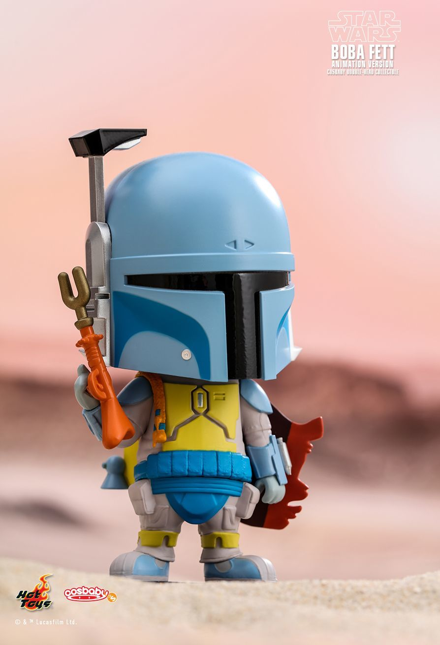 Star Wars: Boba Fett (Animated) - Cosbaby Figure image