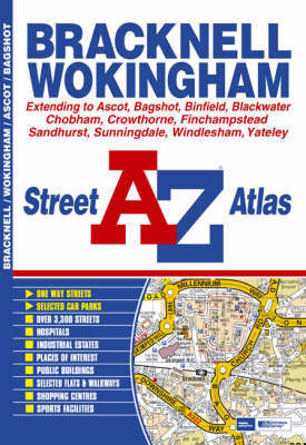 Bracknell Street Atlas by Great Britain image