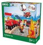 Brio: Fire Rescue - Railway Set